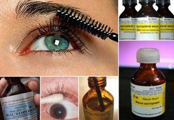 Qual é o uso de óleo de mamona para cílios?